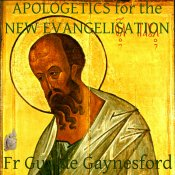 Apologetics for the New Evangelisation Artwork for Podcast